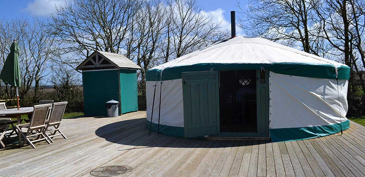 Yurts in Cornwall